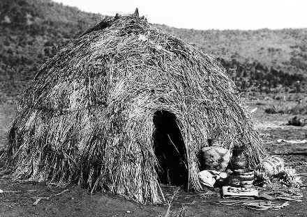 Wickiup Native Indian Houses For Kids