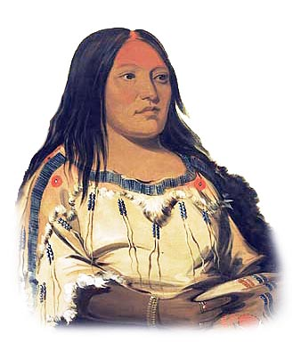 Picture of a Blackfoot Woman