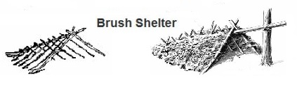 Brush Shelters