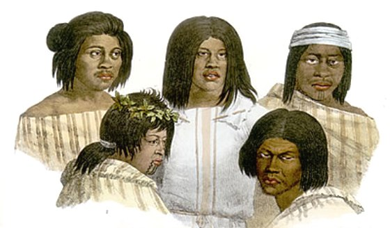 California Native Indians - Louis Choris 1822