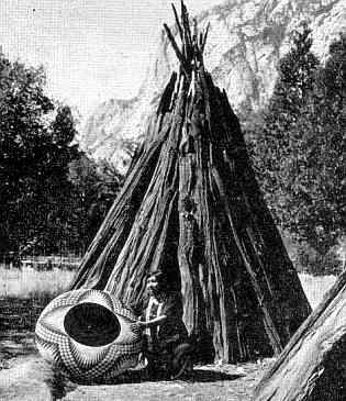 Cedar Bark Tepee Native Indian Houses For Kids