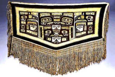 Tlingit Art: Chikat Weaving- Chilkat Blanket