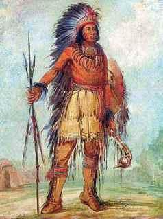 Bandoleros, bandidos, sheriff, indios, etc. - Página 5 Chippewa-ojibwe-warrior