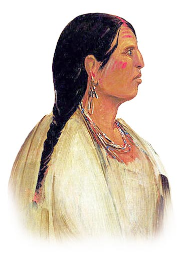 Picture of a Choctaw Woman