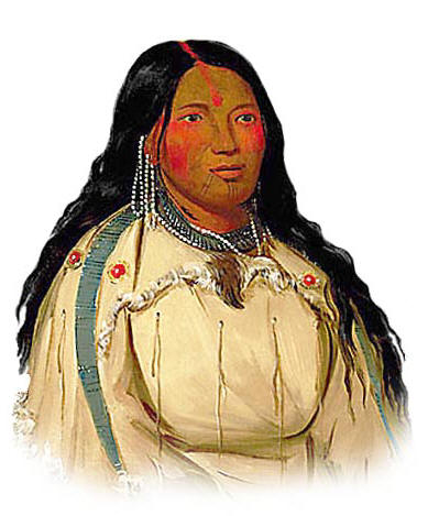 Picture of a Cree Woman