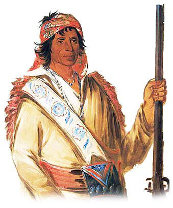 Chief of the Creek (Muskogee) tribe