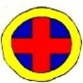 Cross with Circle Symbol