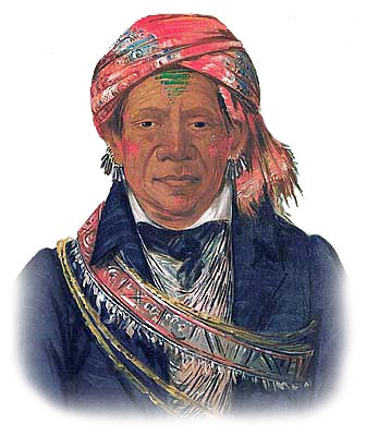 Picture of a Delaware Lenape