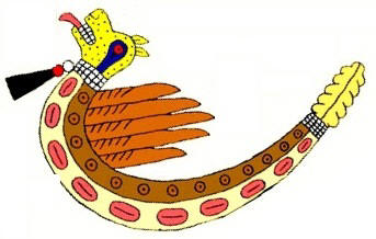 Feathered Serpent Symbol