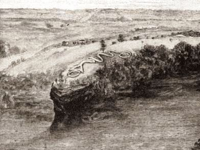 Great Serpent Mound in Ohio
