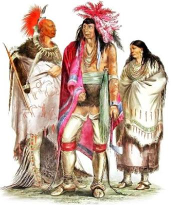 Group of Native Americans