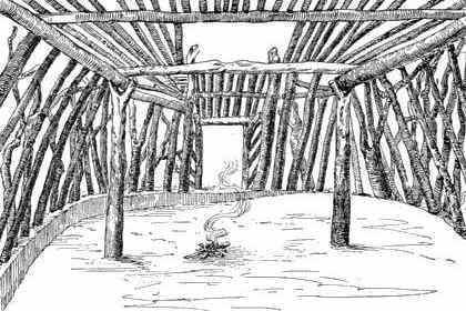 Hogan: Native Indian Houses for kids ***