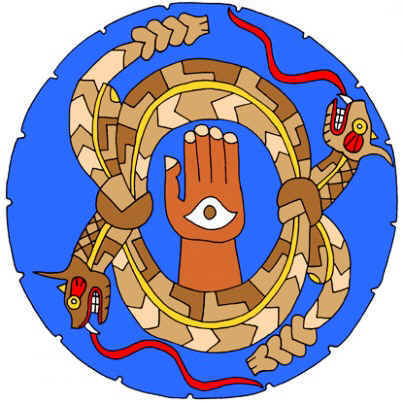 Horned Serpent Symbol