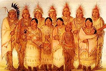 Iowa tribe clothes