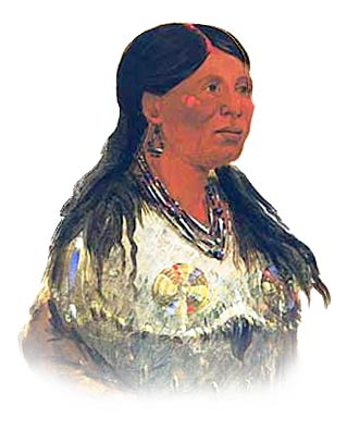 Kansas Kaw Woman