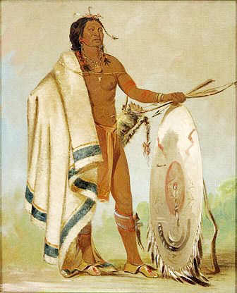 Kiowa Tribe warrior