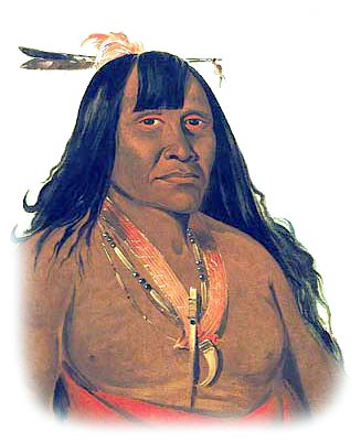 Picture of a Kiowa Band Chief