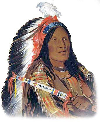 Picture of Lakota Sioux Native American ***