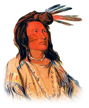 Picture of a Lakota Sioux