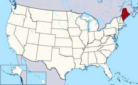 Indian Reservations Maine Map.History Of Maine Indians