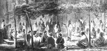 1867 Kansas Medicine Lodge Peace Treaty