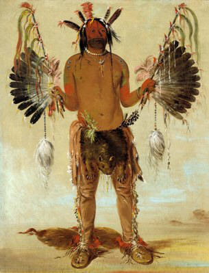 the Great Mystery Painting by George Catlin