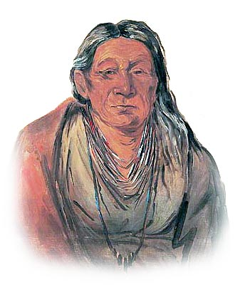 Picture of an Old Miami Indian