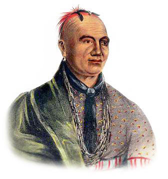Picture of a Mohawk Indian