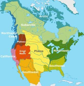 Great Plains Indians - Great Plains On Us Map