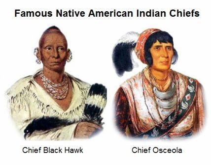 Famous Native American Indian Chiefs
