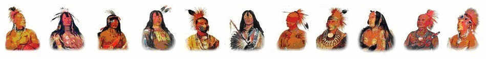 Native American Indians - Indian Tribes List
