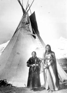 Picture Of A Nez Perce Tepee