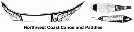 Northwest Canoe and Paddles