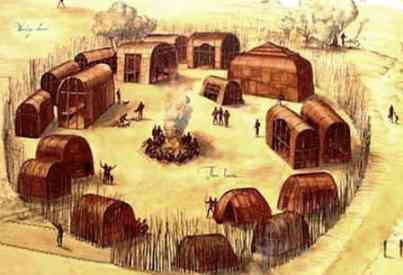 Powhatan tribe facts clothes food and history powhatan longhouse village sciox Images