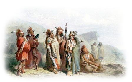 Picture of Sauk and Musquake or Fox Indian Clothing