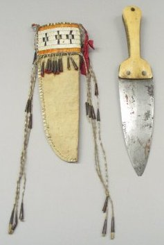 Scalping Knife and Sheath