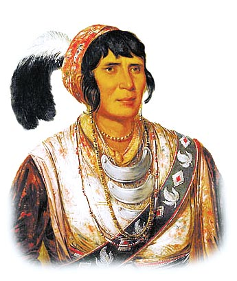 Picture of Osceola, a Seminole