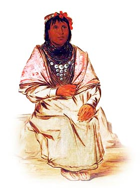 Picture of a Seminole Woman