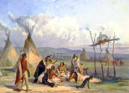 sioux-people-tepee