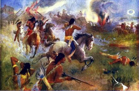 Sioux Battle and Siege of New Ulm, Minnesota