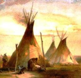 History - Sioux Tepees