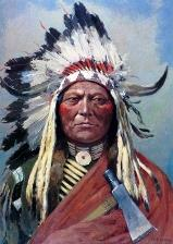 sitting bull famous native american indian chief. Black Bedroom Furniture Sets. Home Design Ideas