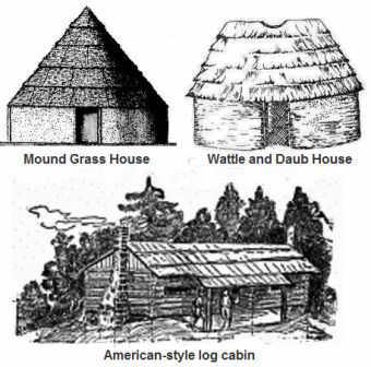 Shelters and houses of southeastern tribes