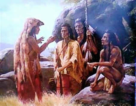 Native American Story Teller - The Story of the
