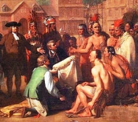 Treaty of Penn with the Lenape Native Indians