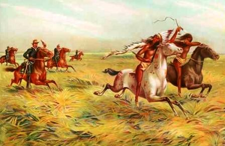 US Cavalry and Indians - Indian Wars and Battles