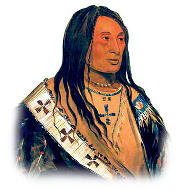 Picture of a Yankton Nakota Sioux